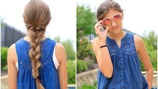 Rope Twist Combo Braid | Cute Girls Hairstyles