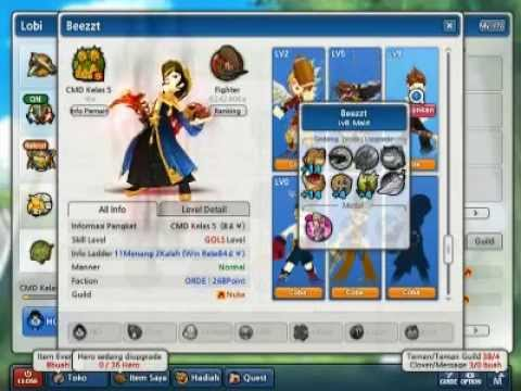 Selling Character on Lostsaga Indonesia