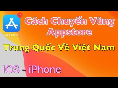 hướng dẫn tạo id apple trung quốc - Cách Chuyển Vùng Appstore Từ Trung Quốc Về Việt Nam IOS - iPhone