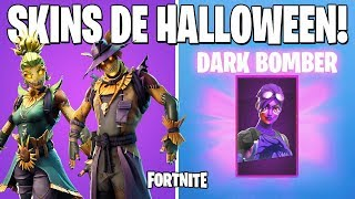 FORTNITE-DARK BOMBER and NEW HALLOWEEN SKINS | BATTLE ROYALE
