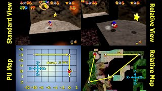 SM64 - Watch for Rolling Rocks - 0.5x A Presses