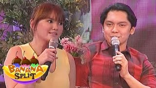 Angelica got speechless with Carlo Aquino