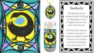 Adinkra Symbol Sankofa for Learning from the Past Meditation Prayer & Art