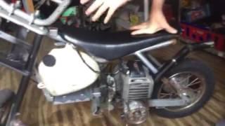 Video Razor dirt bike gets a gas motor!!- razor dirt bike build download MP3, 3GP, MP4, WEBM, AVI, FLV Oktober 2018