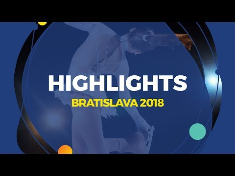 Men Free Skating | Highlights | Bratislava 2018