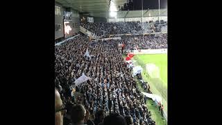 Uwe Röslers sång! Malmö FF - Besiktas JK, 2-0; 2018-10-04