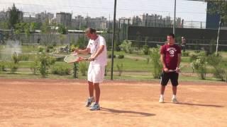 Видео урок по теннису №7