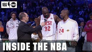 Kobe And TNT Have Shared A Lot of Memories Through The Years | NBA on TNT