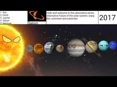 Alternative Future of the Solar System (AFOSS) Episode 1 Fall of peace