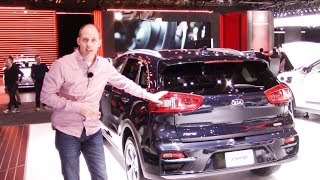 Kia Niro EV First Walkaround Review