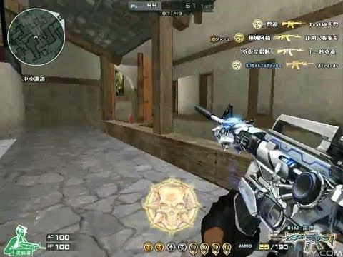 QCES.YAYA 141kills FFA Blackwidow [M4A1-S Transformers][Crossfire]