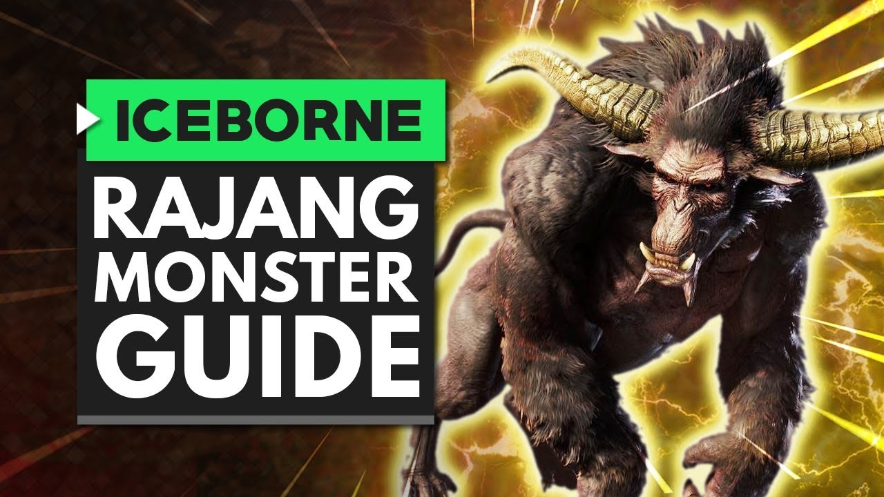 Monster Hunter World Iceborne | RAJANG Monster Guide thumbnail