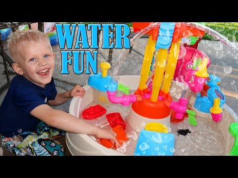 Little Tikes Fountain Factory Water Table Playtime