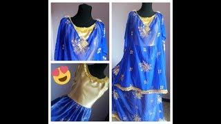كيفية تفصيل وخياطة اللباس التقليدي الجزائري (الردا)