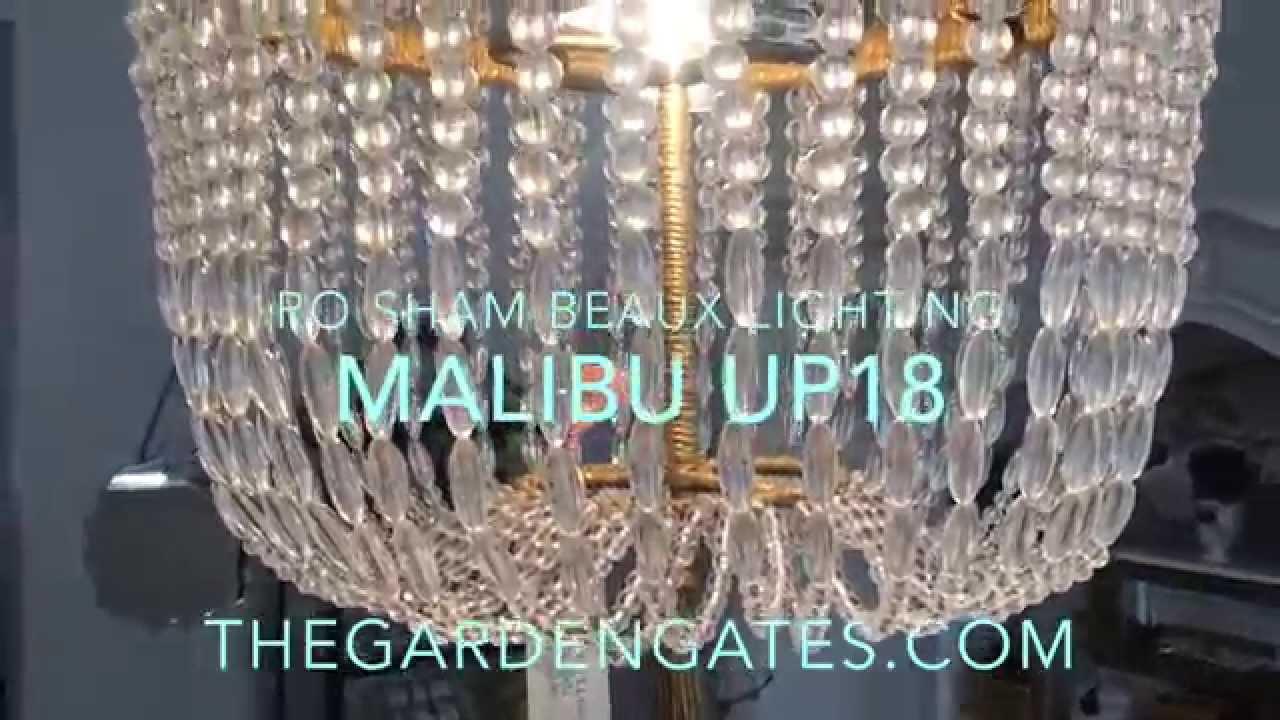 Ro sham beaux malibu up18 chandelier youtube ro sham beaux malibu up18 chandelier arubaitofo Choice Image