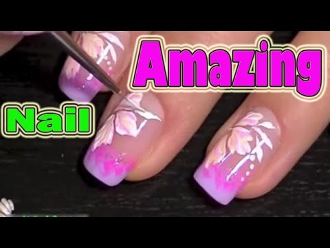 amazing nail art designs compilation, nail art compilation ...