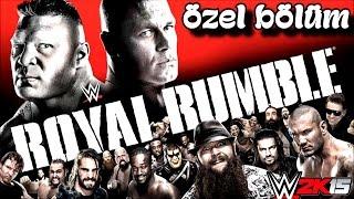 WWE 2k15 Türkçe oynanış | ROYAL RUMBLE | Özel Bölüm | Ps4