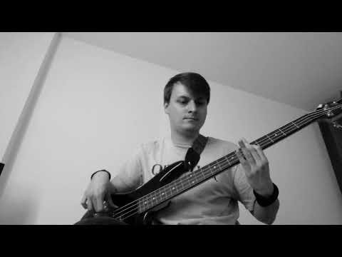 Three Days Grace - Pain - bass cover