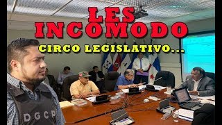 DIPUTADOS OTRA VEZ EN RIDICULO PUBLICO la farsa de comisión