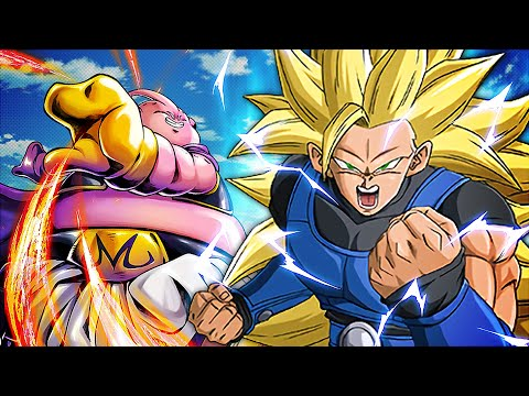 THE STORY IS BACK!! SSJ3 Shallot DECIMATES Majin Buu?! | Dragon Ball Legends - 100