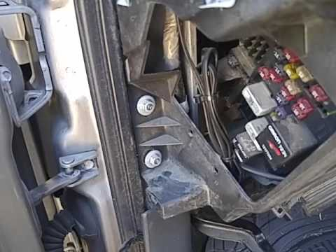 2001 Chevy Silverado Heater Core Replacement Part 3