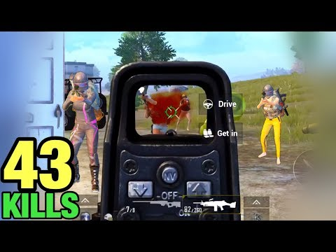 NEW WORLD RECORD | 43 KILLS SOLO Vs SQUAD | PUBG MOBILE