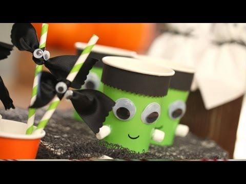 How to Set a Kids Halloween Table || KIN PARENTS