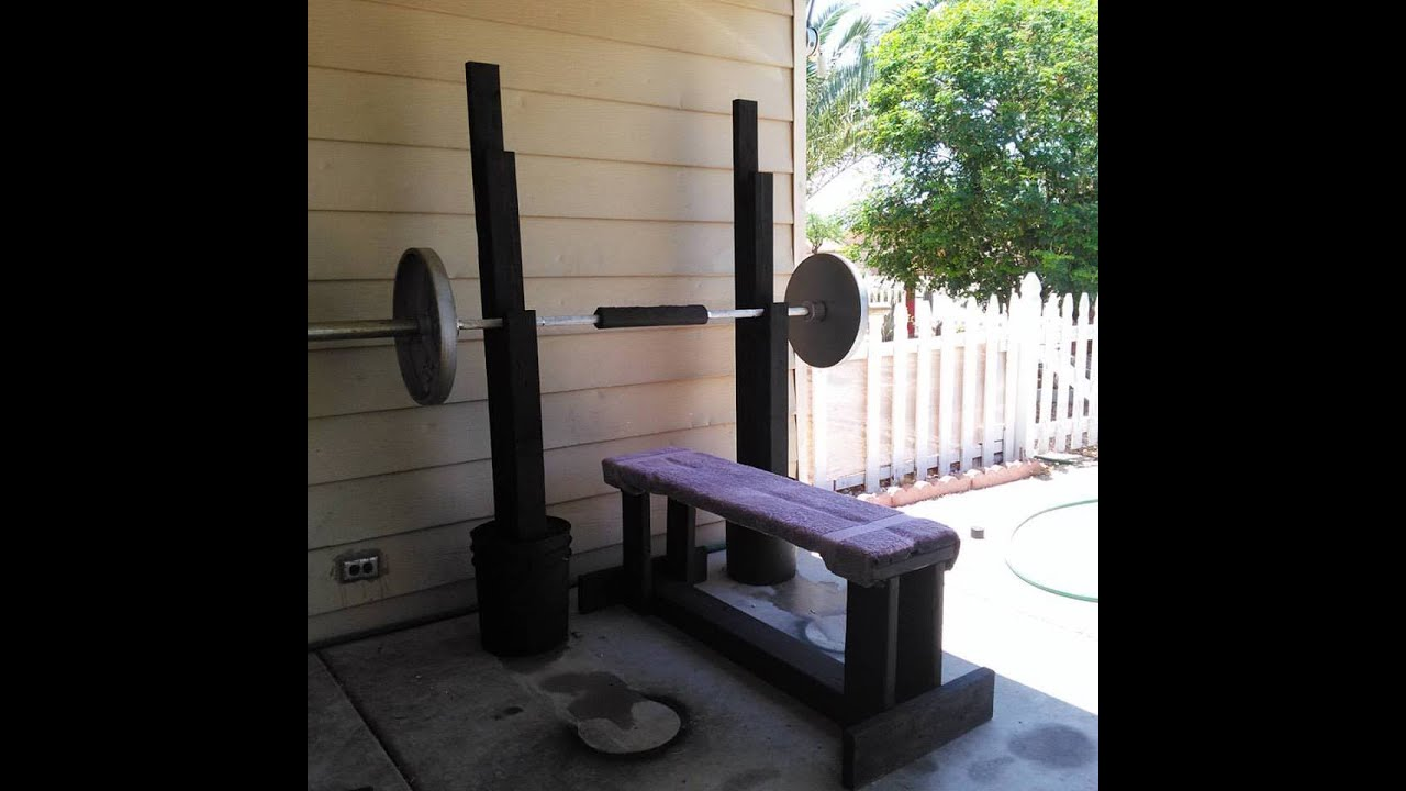 How To Build A Weight Bench Bench Press Doovi