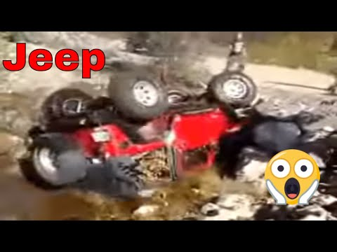 Epic Jeep Wrangler Rollover - Amazing Fail Must See - YouTube