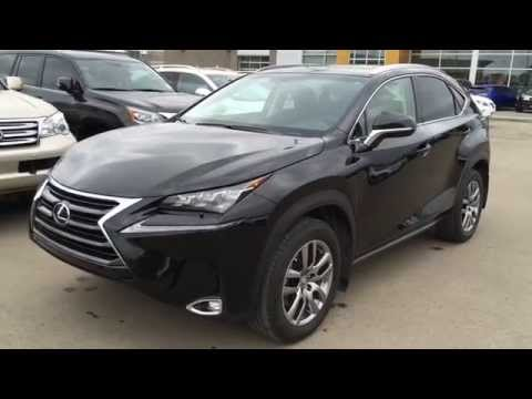 Executive Demo 2015 Lexus NX 200t AWD - Luxury Package Review - Calgary, Alberta