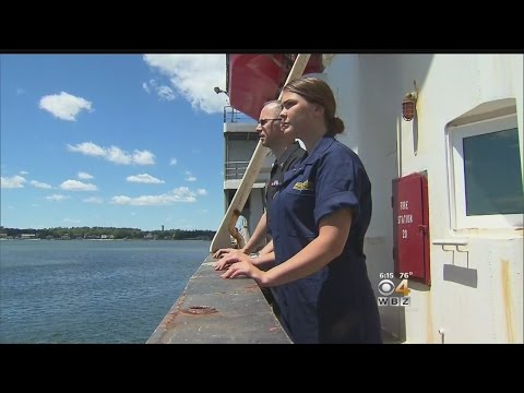 Father-Daughter Duo Make History At Mass. Maritime Academy