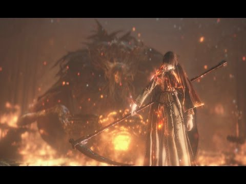 Dark Souls III: DLC - Sister Friede And Father Ariandel - Blackflame Friede - SOLO, NO DAMAGE (NG+7)