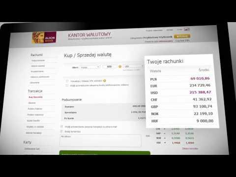Poznaj Internetowy Kantor Walutowy Alior Banku