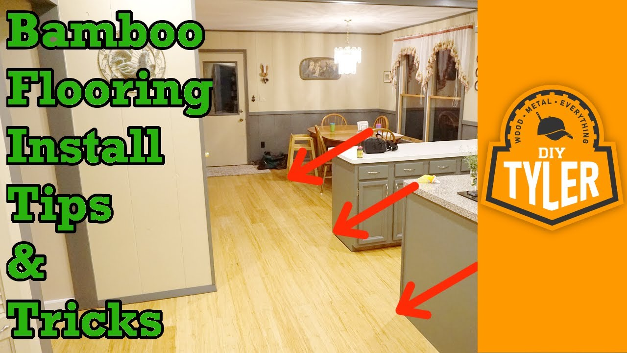 bamboo flooring tips and tricks - youtube
