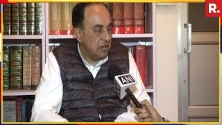Subramanian Swamy Reacts To Congress-Taliban Picture