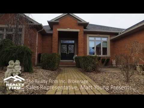 Video Tour of 20757 Denfield Road, London, Ontario - Matt Young, The Realty Firm Inc. Brokerage