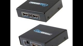 Multiplicador,splitter HDMI,VGA, para que serve - jc.cabos