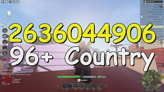 Country Roblox Song Codes/IDs - Country Music Playlist 2021 ♫ Top Country Hits 2021