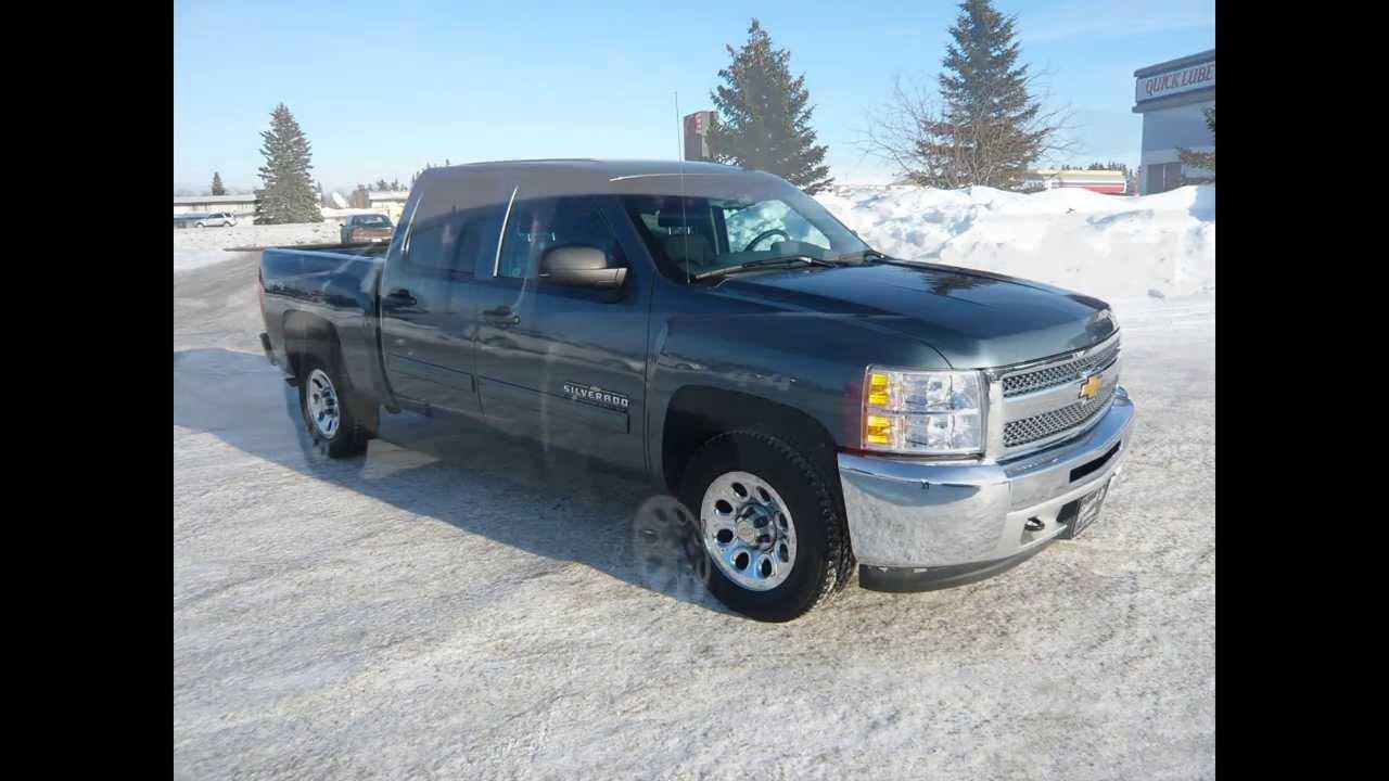 2012 CHEVROLET SILVERADO 1500 LS 4X4 CREW CAB in Review, Red Deer ...