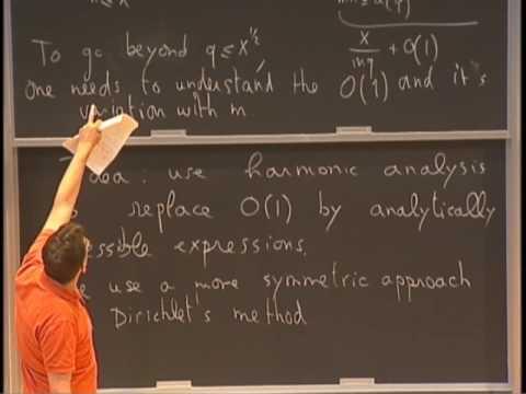 Emmanuel Kowalski - 2/6 Distribution of arithmetic functions [2017]