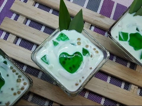 how to make buko pandan gulaman