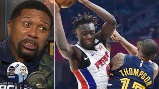 'It's a crime scene!'- Jalen Rose on Sekou Doumbouya's dunk on Tristan Thompson | Jalen & Jacoby