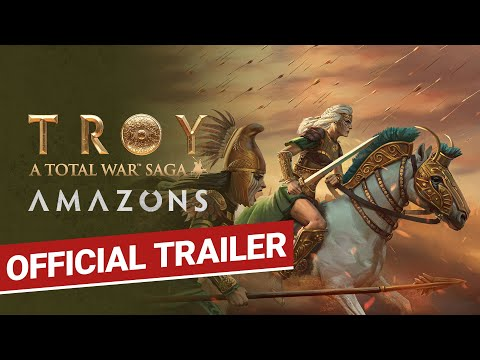 AMAZONS / Official Trailer / Total War: TROY [PEGI]