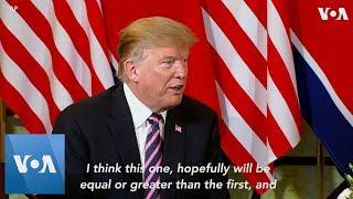 Trump, Kim Begin 2nd Summit in Hanoi, Vietnam