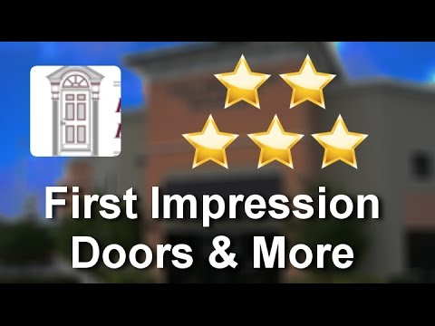 First Impression Doors More West Palm Beach Remarkable Five Star Review By Cara K