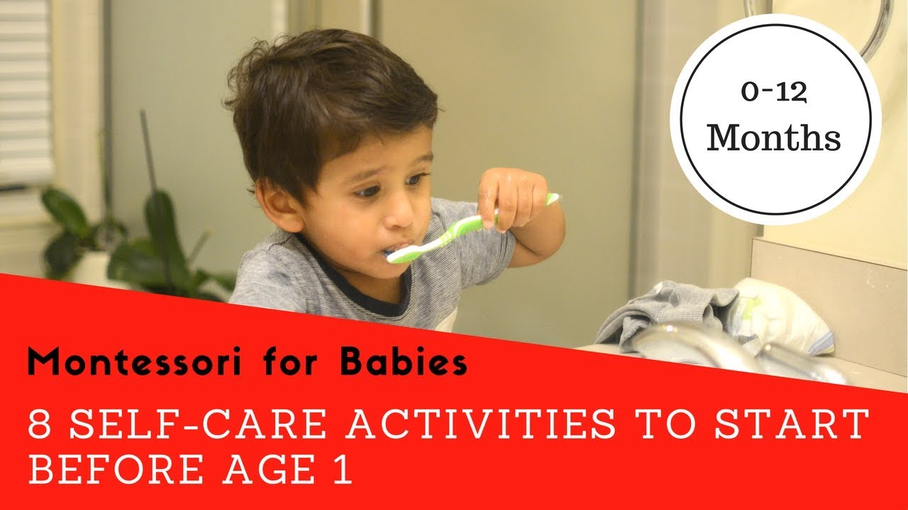 8 Essential Self-care Activities to Start Before Age 1