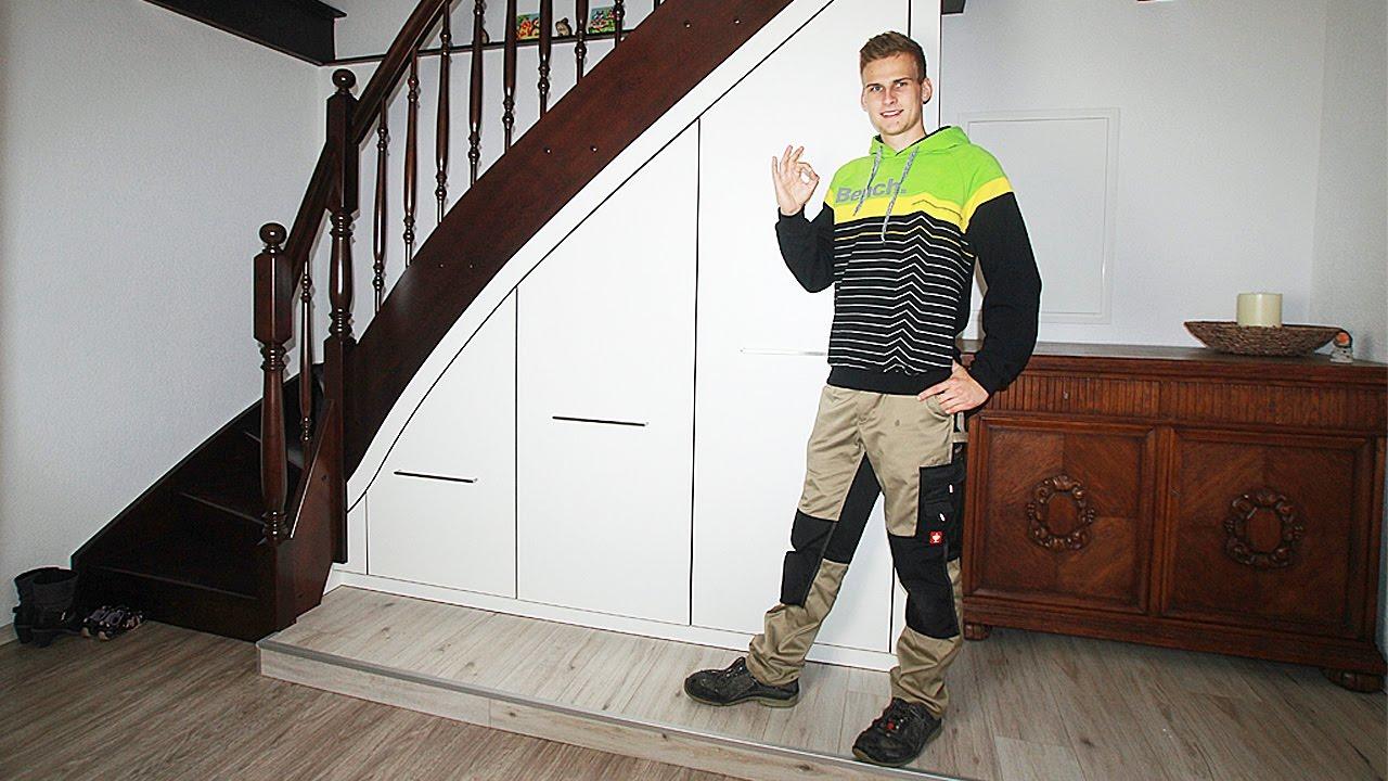 Der Treppenunterschrank Entwickelt 2009 By Firma Frind Youtube