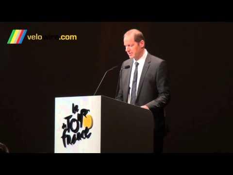 Discours Christian Prudhomme et Philippe Bas à l'occasion de la présentation du Tour de France 2016
