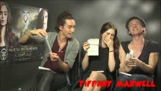 The Mortal Intruments : City Of Bones Cast - Funny Moments