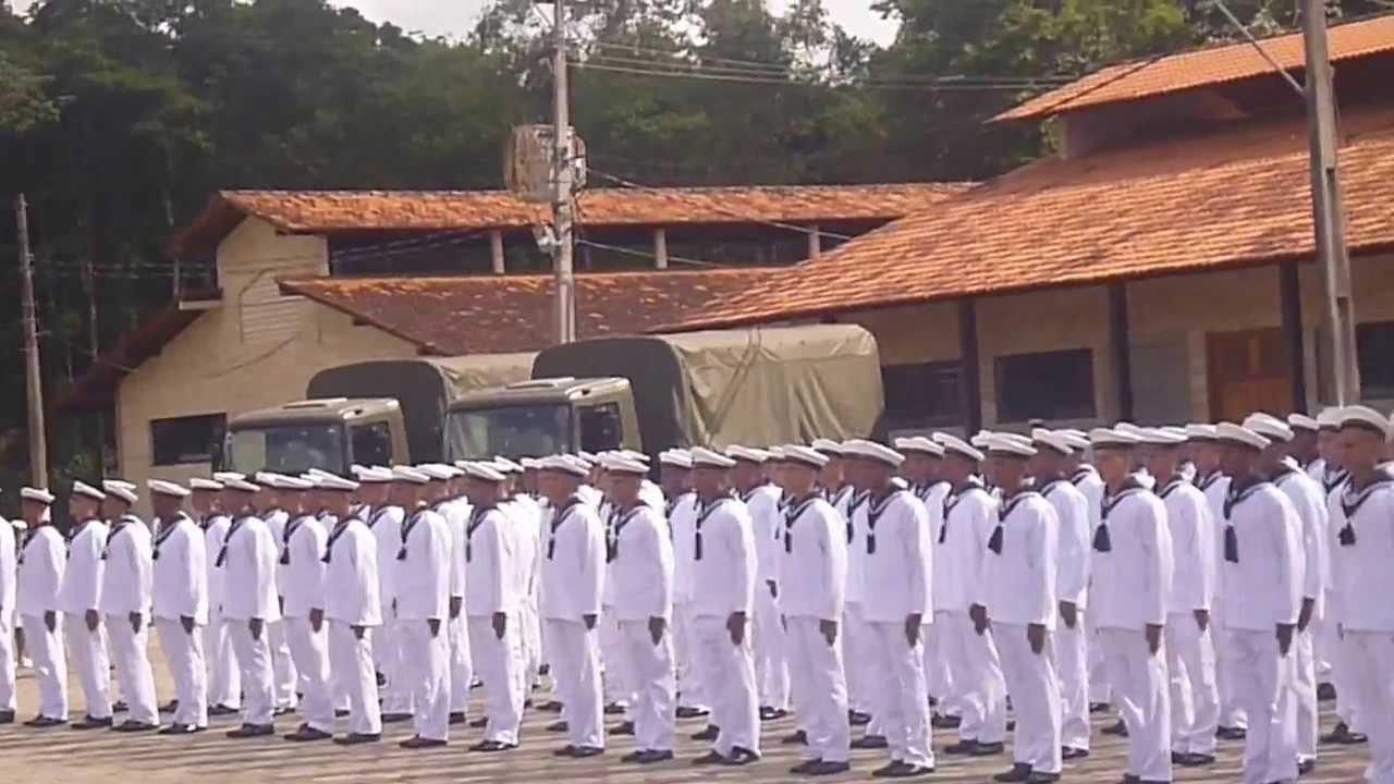 formatura 2º turma de recrutas da marinha 2013 PART. 1 - YouTube